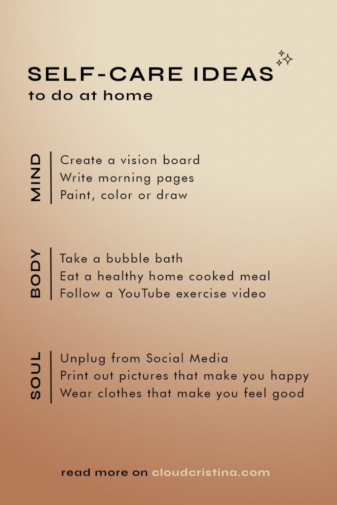 30 Easy Self-Care Ideas To Do at Home