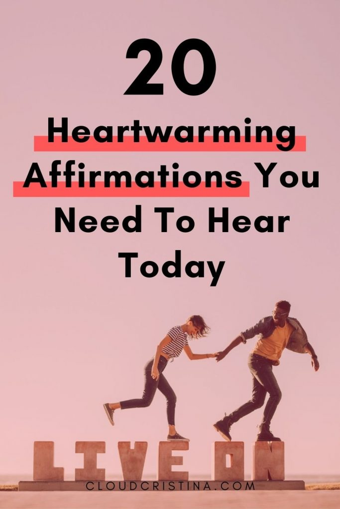 affirmations to hear today