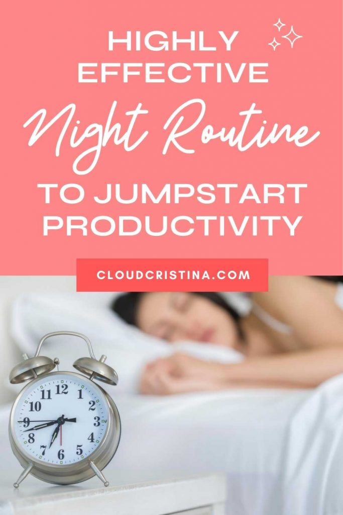 Night Routine Ideas